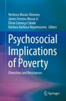 Cover image for Psychosocial Implications of Poverty Diversities and Resistances