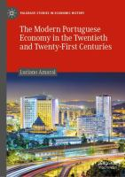 Cover image for The Modern Portuguese Economy in the Twentieth and Twenty-First Centuries