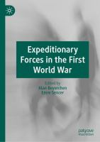 Cover image for Expeditionary Forces in the First World War