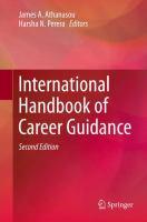 Cover image for International Handbook of Career Guidance