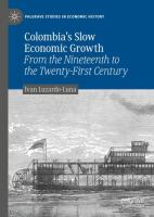Cover image for Colombia's Slow Economic Growth From the Nineteenth to the Twenty-First Century