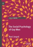 Cover image for The Social Psychology of Gay Men