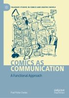 Cover image for Comics as Communication A Functional Approach