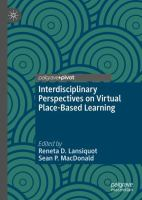 Cover image for Interdisciplinary Perspectives on Virtual Place-Based Learning
