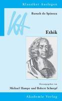 Cover image for Baruch de Spinoza : Ethik in geometrischer Ordnung dargestellt