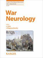 Cover image for War Neurology