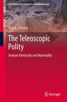 Cover image for The Teleoscopic Polity Andean Patriarchy and Materiality