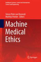 Cover image for Machine Medical Ethics