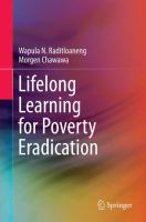 Cover image for Lifelong Learning for Poverty Eradication