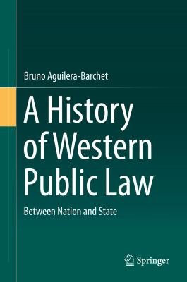 Cover image for A History of Western Public Law Between Nation and State