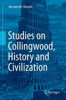Cover image for Studies on collingwood, history and civilization