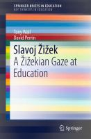 Cover image for Slavoj Žižek A Žižekian Gaze at Education