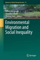 Cover image for Environmental Migration and Social Inequality