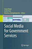 Cover image for Social Media for Government Services