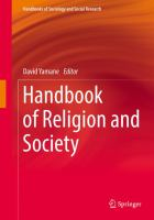 Cover image for Handbook of Religion and Society