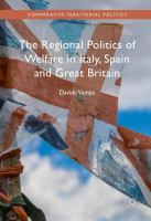 Cover image for The Regional Politics of Welfare in Italy, Spain and Great Britain