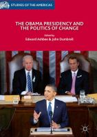 Cover image for The Obama Presidency and the Politics of Change