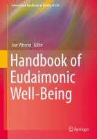Cover image for Handbook of Eudaimonic Well-Being