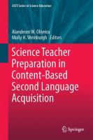 Cover image for Science Teacher Preparation in Content-Based Second Language Acquisition