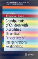 Cover image for Grandparents of Children with Disabilities Theoretical Perspectives of Intergenerational Relationships