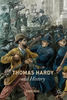 Cover image for Thomas Hardy and History