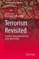 Cover image for Terrorism Revisited Islamism, Political Violence and State-Sponsorship
