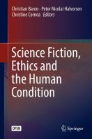 Cover image for Science Fiction, Ethics and the Human Condition