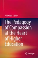 Cover image for The Pedagogy of Compassion at the Heart of Higher Education