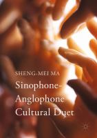 Cover image for Sinophone-Anglophone Cultural Duet