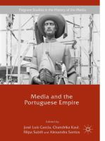 Cover image for Media and the Portuguese Empire