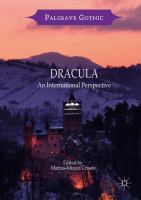Cover image for Dracula An International Perspective