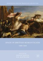 Cover image for Spain in British Romanticism 1800-1840