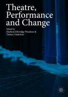 Cover image for Theatre, Performance and Change