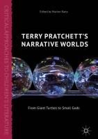 Cover image for Terry Pratchett's Narrative Worlds From Giant Turtles to Small Gods