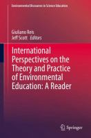 Cover image for International Perspectives on the Theory and Practice of Environmental Education: A Reader