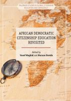 Cover image for African Democratic Citizenship Education Revisited