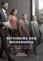 Cover image for Rethinking New Womanhood Practices of Gender, Class, Culture and Religion in South Asia