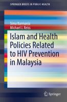 Cover image for Islam and Health Policies Related to HIV Prevention in Malaysia