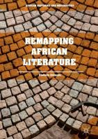 Cover image for Remapping African literature