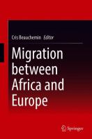 Cover image for Migration between Africa and Europe