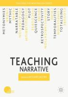 Cover image for Teaching Narrative