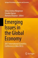 Cover image for Emerging Issues in the Global Economy 2017 International Economics Conference in Sibiu (IECS)