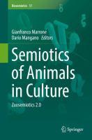 Cover image for Semiotics of Animals in Culture Zoosemiotics 2.0