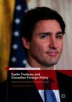 Cover image for Justin Trudeau and Canadian Foreign Policy