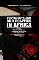 Cover image for Pentecostalism and Politics in Africa