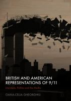 Cover image for British and American Representations of 9/11 Literature, Politics and the Media