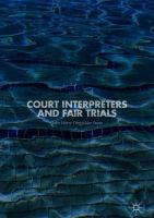 Cover image for Court Interpreters and Fair Trials