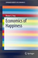 Cover image for Economics of Happiness