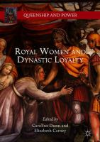 Cover image for Royal Women and Dynastic Loyalty