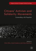 Cover image for Citizens' Activism and Solidarity Movements Contending with Populism